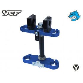 te-de-fourche-complet-ycf-50-cc-135-mm-bleu