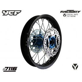 roue-complete-renforcee-bigy-14-avec-moyeux-cnc-ycf-bleu