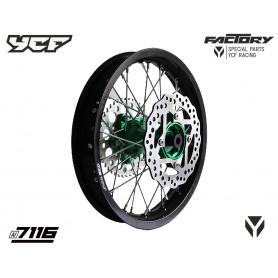 roue-complete-renforcee-bigy-14-avec-moyeux-cnc-ycf-vert