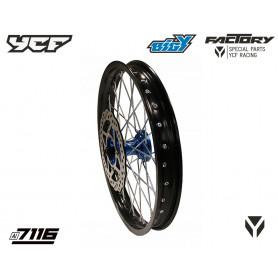 roue-complete-renforcee-avant-alu-7116-17-avec-moyeux-cnc-ycf-bleu