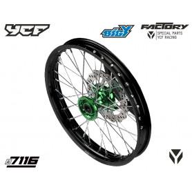roue-complete-renforcee-avant-alu-7116-17-avec-moyeux-cnc-ycf-vert