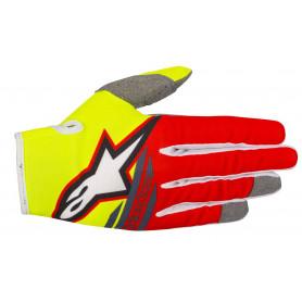 gants-moto-cross-alpinestars-radar-flight-jaune-fluo-rouge-anthracite