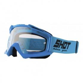 Masque Cross SHOT Assault Blue
