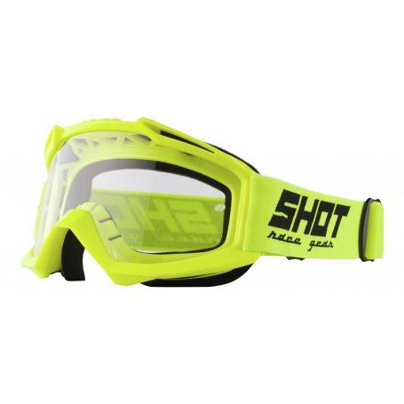 Masque Cross SHOT Assault Neon Yellow