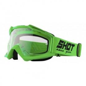 Masque Cross SHOT Assault Neon Green