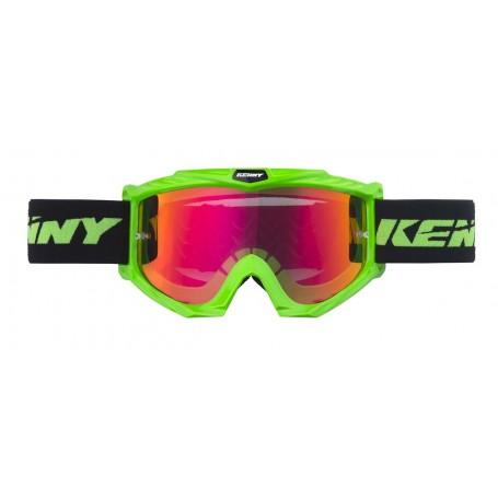Masque Cross KENNY Track + Neon Green