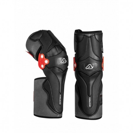 Genouilleres ACERBIS X-Strong Black Red