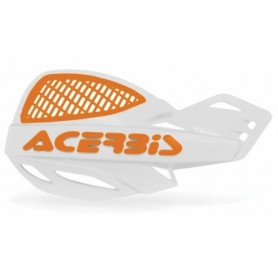 Protèges Mains Universel ACERBIS MX Uniko Vented White Orange