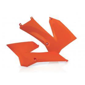 Ouïes de radiateur ACERBIS pour KTM SX 85 de 2006 à 2012, couleur orange