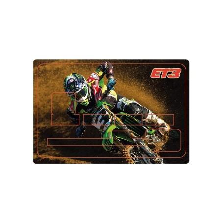 Stickers de Carte Bancaire BURN OUT Eli Tomac B