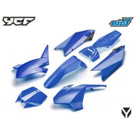 Kit Plastique YCF Bigy, couleur Bleu