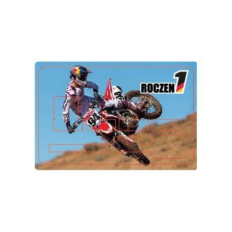 Stickers de Carte Bancaire BURN OUT Ken Roczen B