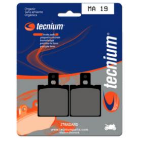 Plaquettes De Frein TECNIUM route organique MA19