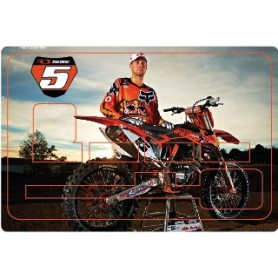 Stickers de Carte Bancaire BURN OUT Ryan Dungey A