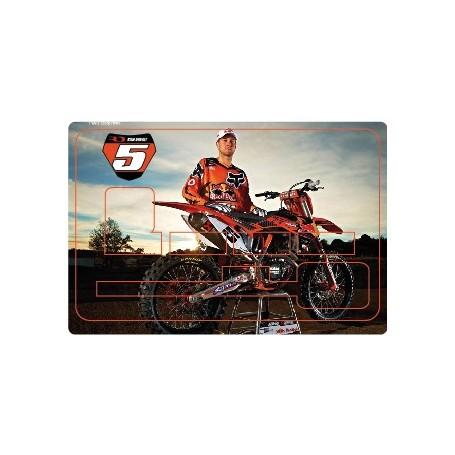 Stickers de Carte Bancaire BURN OUT Ryan Dungey A