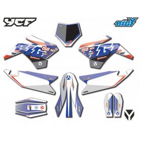 KIT DECO BIGY FACTORY F150 MX 2017 ET +