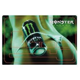 Stickers de Carte Bancaire BURN OUT Monster Energy B