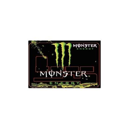Stickers de Carte Bancaire BURN OUT Monster Energy C