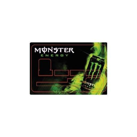 Stickers de Carte Bancaire BURN OUT Monster Energy D
