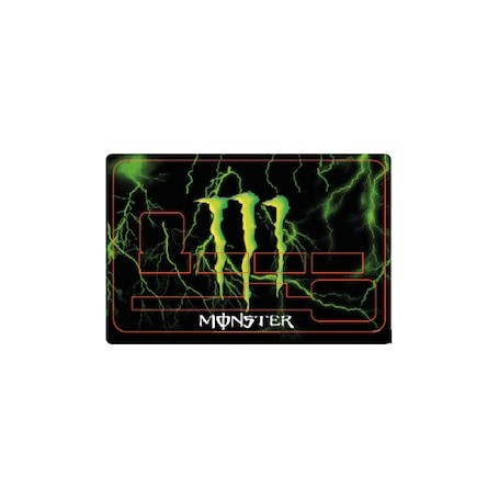 Stickers de Carte Bancaire BURN OUT Monster Energy E