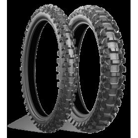 Pneu arrière Mixte gras Bridgestone BATTLECROSS X20 110/100-18 M/C