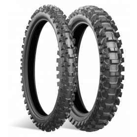 Pneu arrière Mixte Bridgestone BATTLECROSS X30 90/100-16 M/C