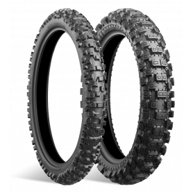 Pneu avant Mixte dur Bridgestone BATTLECROSS X40 80/100-21 M/C