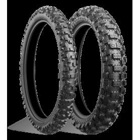 Pneu arrière Mixte dur Bridgestone BATTLECROSS X40 100/90-19 M/C