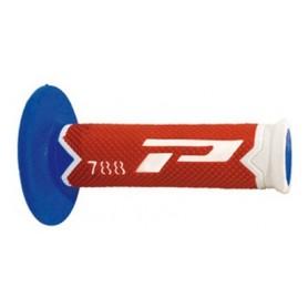 Jeu de poignées PROGRIP 788 Blanc Rouge Bleu