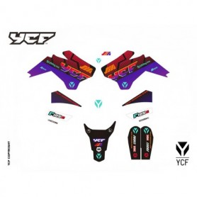 Kit Déco YCF 125 SM 2018