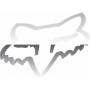 Stickers FOX Head TDC 10 cm Chrome