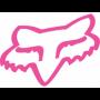 Stickers FOX Head TDC 10 cm Pink