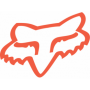 Stickers FOX Head TDC 4.5 cm Flo Orange