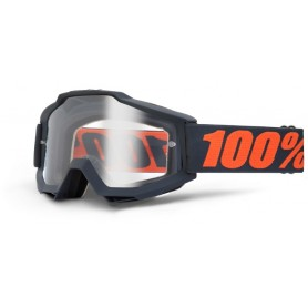 Masque Cross 100% The Accuri Gunmetal Clair
