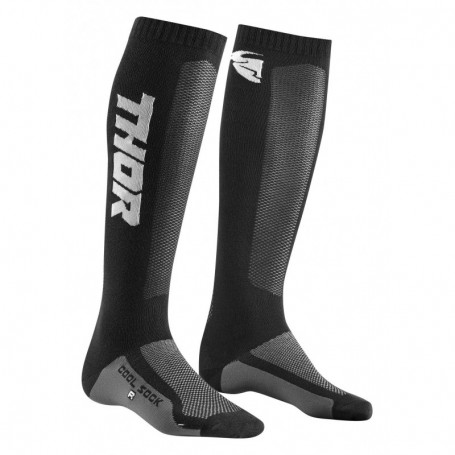 Chaussettes de cross THOR Youth MX Cool Black Charcoal