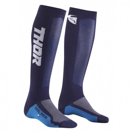 Chaussettes de cross THOR Youth MX Cool Navy Black