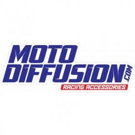 Autocollant de Camion Moto Diffusion Bleu