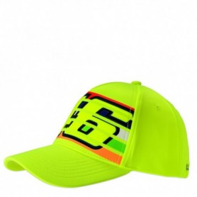 Casquette VR46 Stripes Yellow 01