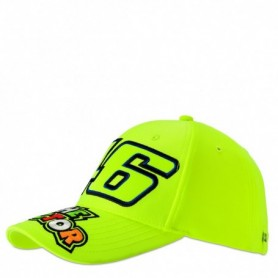 Casquette VR46 The Doctor Fluo Yellow