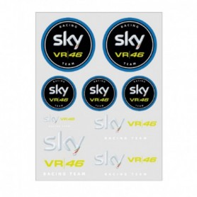 Planche de Stickers VR46 Sky Team