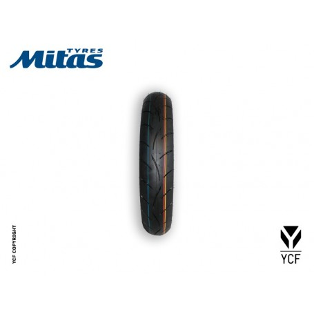 Pneus Supermotard MITAS 100 / 80 / 17 Sport