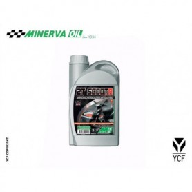 Huile 2 Temps Synthese Minerva YCF 1 Litres