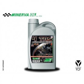 Huile 4 Temps Synthese Minerva YCF Synthese 10W60 1 Litres