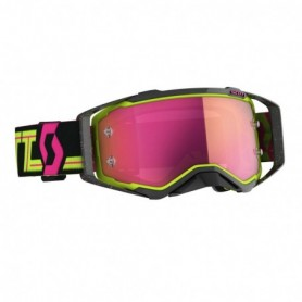Masque Cross SCOTT Prospect Black Yellow Pink Chrome Works