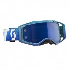 Masque Cross SCOTT Prospect Blue White Electric Blue Chrome Works