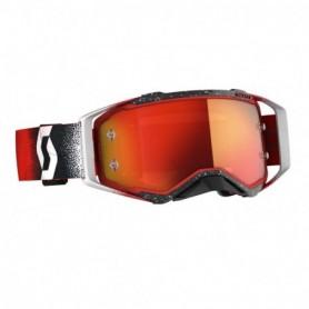 Masque Cross SCOTT Prospect White Red Orange Chrome Works