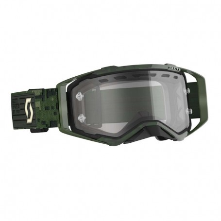Masque Cross SCOTT Prospect Enduro Kaki Green Clear