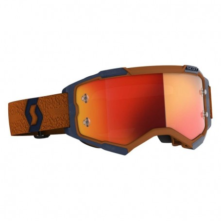 Masque Cross SCOTT Fury Grey Orange Orange Chrome Works