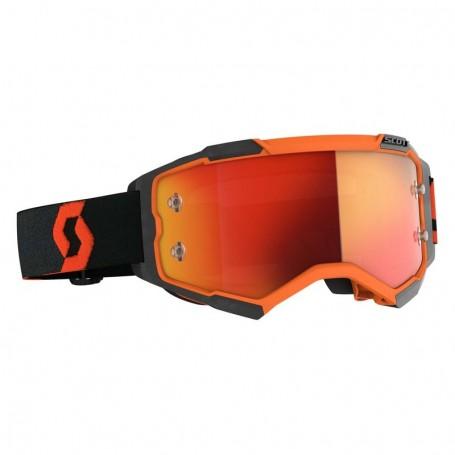 Masque Cross SCOTT Fury Orange Black Orange Chrome Works