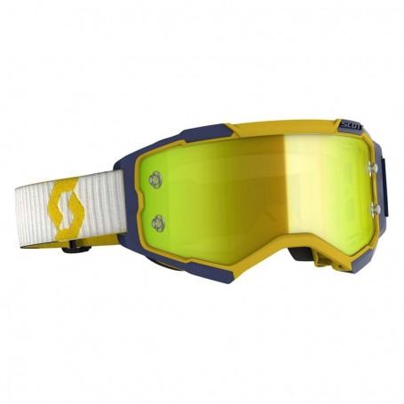 Masque Cross SCOTT Fury Yellow Blue Yellow Chrome Works